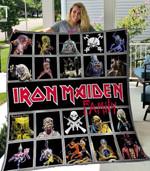 Iron Maiden 1 Blanket TH1607 Quilt