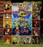 Iron Maiden Blanket TH1607 Quilt