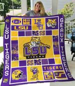 Geaux Tigers Blanket TH1607 Quilt