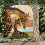 Giraffe Blanket TH1607 Quilt