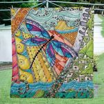 Dragonfly Blanket TH1607 Quilt