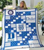 Duke Blue Devils 1 Blanket TH1607 Quilt