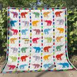 Elephant 6 Blanket TH1607 Quilt