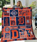 Detroit Tigers Blanket TH1607 Quilt