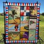 Dominican Republic Blanket TH1607 Quilt