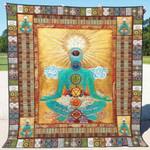 Chakra Blanket TH1607 Quilt