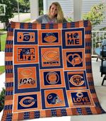 Chicago Bears Blanket TH1607 Quilt