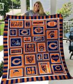 Chicago Bears 1 Blanket TH1607 Quilt