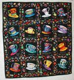 Cup Of Tea Blanket TH1607 Quilt