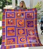 Clemson Tigers Blanket TH1607 Quilt