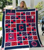 Cleveland Indians 1 Blanket TH1607 Quilt
