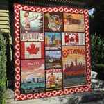 Canada 1 Blanket TH1607 Quilt