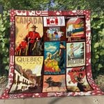 Canada 5 Blanket TH1607 Quilt