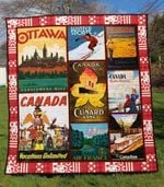 Canada 4 Blanket TH1607 Quilt