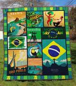 Brazil 1 Blanket TH1607 Quilt