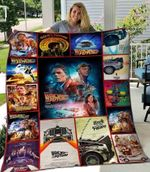 Back To The Future Blanket TH1607 Quilt