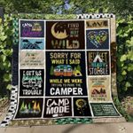 Find Your Own Way In The Wild Camping Blanket TH0107 Quilt