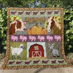 Farm Life Blanket TH0107 Quilt