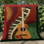Guitar Blanket TH0107 Quilt