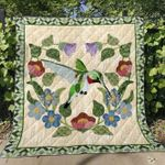 Hummingbird V1 Blanket TH0107 Quilt