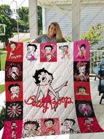 Betty Boop Blanket Quilt