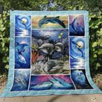 Dolphin V1 Blanket TH0107 Quilt