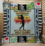 Eat Sleep Golf On Sale Quilt