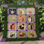 Happy Cow Blanket TH0107 Quilt