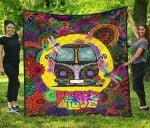 Dragonfly Peace And Love Premium TH1207 Quilt