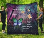 Butterflies I Look Up To The Sky TH1207 Quilt