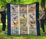 Dragonfly Many Pieces Premium TH1207 Quilt