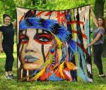 Hippie Girl Native Premium TH1207 Quilt