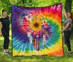Hippie Tie Dye Premium TH1207 Quilt