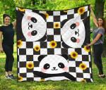 Panda Sunflower Premium Ver1 TH1207 Quilt