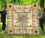 To My Amazing Granddaughter TH1207 Quilt