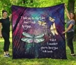 Dragonflies I Look Up To The Sky TH1207 Quilt