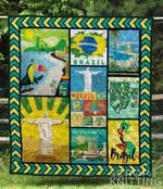 Brazil 4 Blanket TH1307 Quilt
