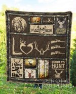 Hunting 9 Blanket TH1307 Quilt