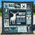 Buckin Dad Blanket TH1307 Quilt