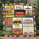 Germany 1 Blanket TH1307 Quilt