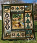 Deer Blanket TH1307 Quilt