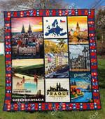 Czech Republic Blanket TH1307 Quilt