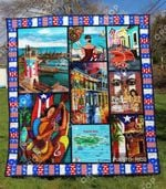 Puerto Rico Blanket TH1307 Quilt
