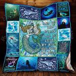 Mermaid Blanket KC1207 Quilt