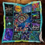 My Spirit Animal Is Dragonfly Blanket KC1207 Quilt