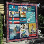 Norway 1 Blanket TH1307 Quilt
