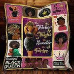 The Thicker The Thighs The Sweeter The Prize Blanket KC1207 Quilt
