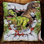 Time Travel Dinosaur Blanket KC1207 Quilt