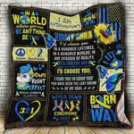 I D Choose You Down Syndrome Blanket KC1207 Quilt