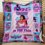 Boxing Girl Blanket KC1207 Quilt